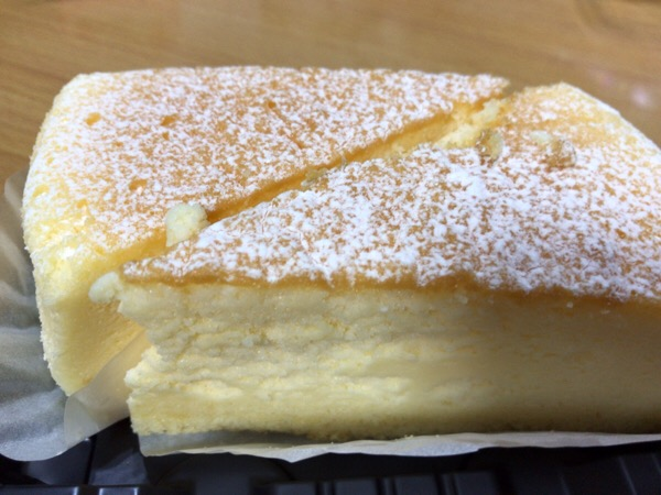 本日のチーズケーキ