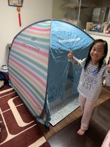本日のキャンプ