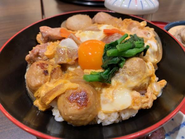 本日の贅沢名古屋コーチン丼