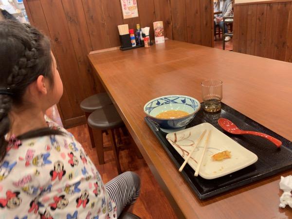 本日の丸亀製麺