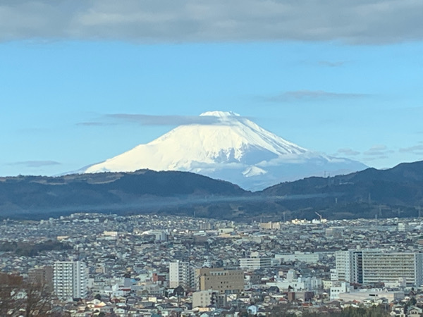 本日の弘法山
