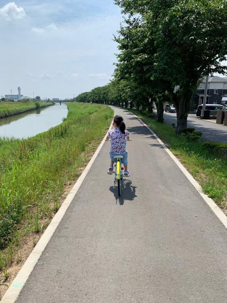 本日のサイクリング