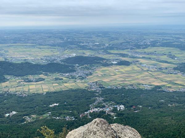本日の筑波山