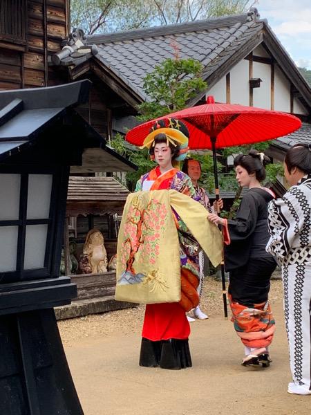 本日の日光江戸村