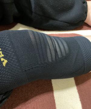 本日の膝痛